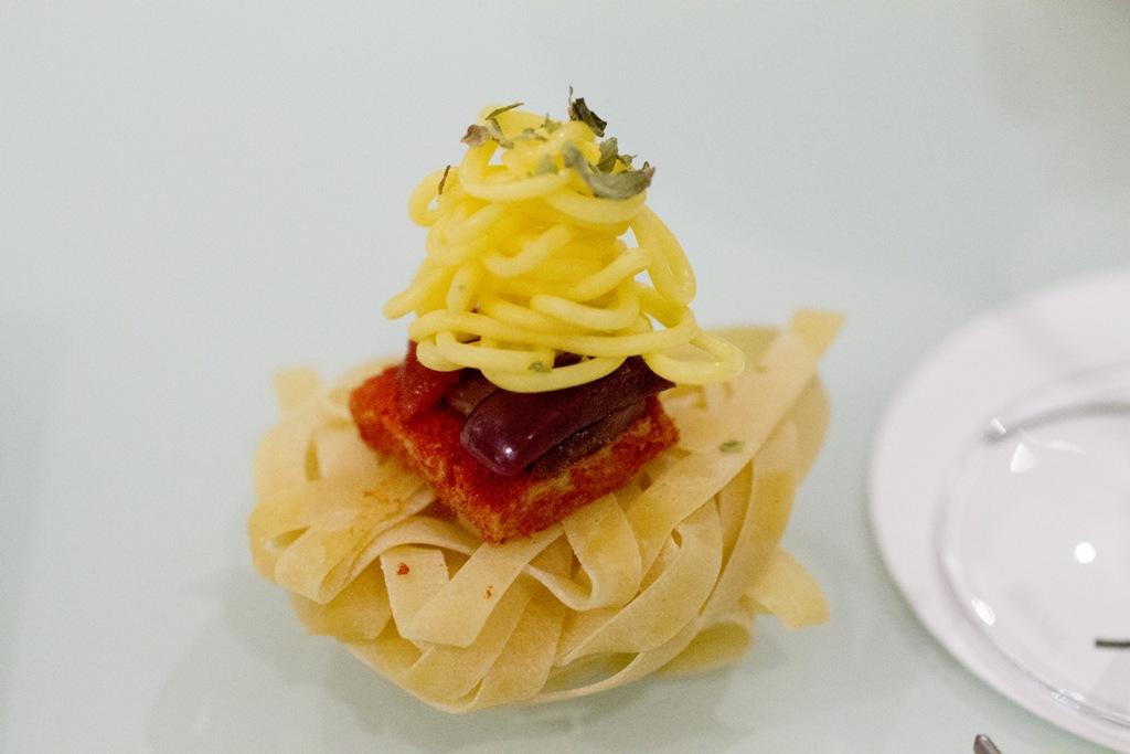 spaghetti alla puttanesca, Quique Dacosta, Denia, Spagna