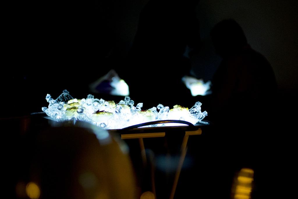 piatto luminoso, Quique Dacosta, Denia, Spagna