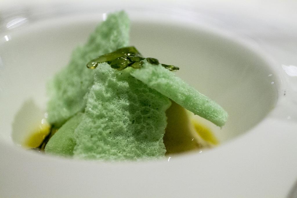 dessert, mojito alle alghe marine, Quique Dacosta, Denia, Spagna