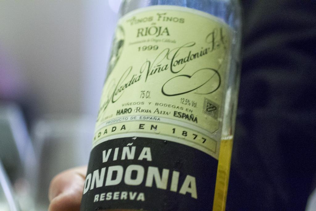 vina tondonia, Quique Dacosta, Denia, Spagna