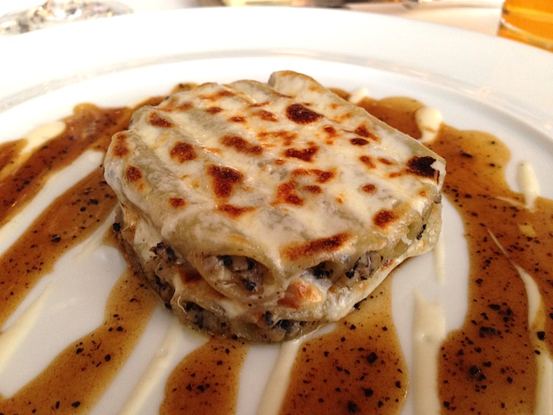 Macaroni al foie gras e tartufo: Jean-Louis Nomicos, Les Tablettes, passione gourmet
