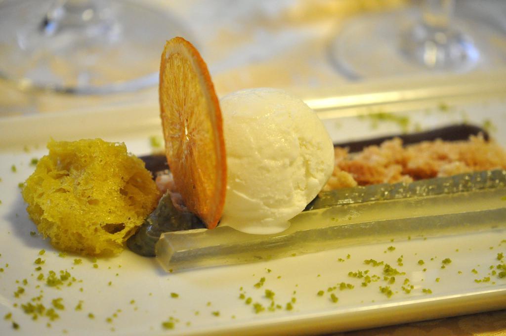 crumble salato e cremoso, Locanda San Lorenzo, Chef Renzo Dal Farra, Puos D'Alpago