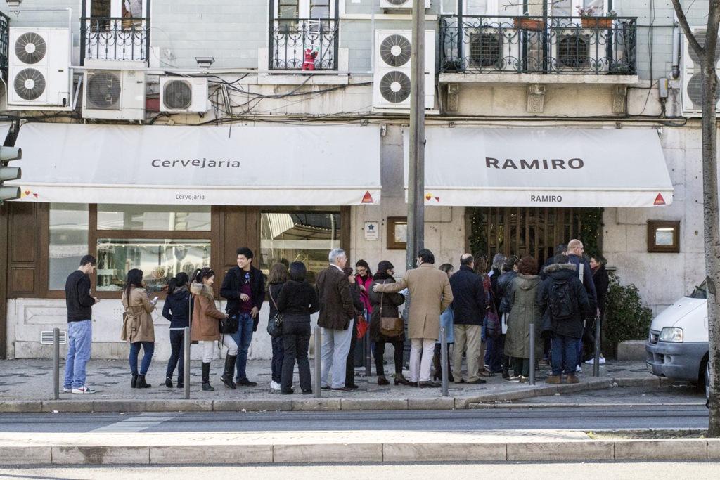 locale, Cervejaria Ramiro, Lisbona