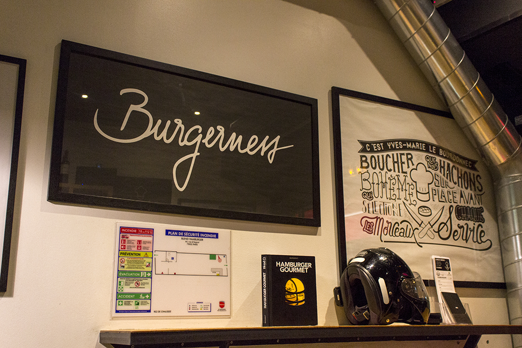 Blend, Hamburger Gourmet, Paris, Francia