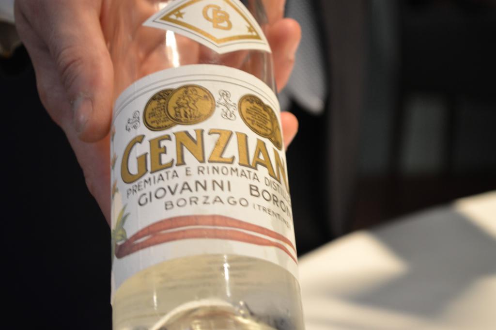 distillato genziana, Osteria Francescana, Chef Massimo Buttura, Modena