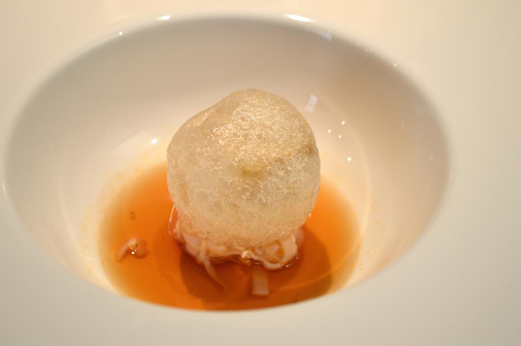 melanzane calamari, Osteria Francescana, Chef Massimo Buttura, Modena