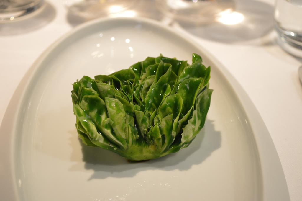 Caesar salad, Osteria Francescana, Chef Massimo Buttura, Modena