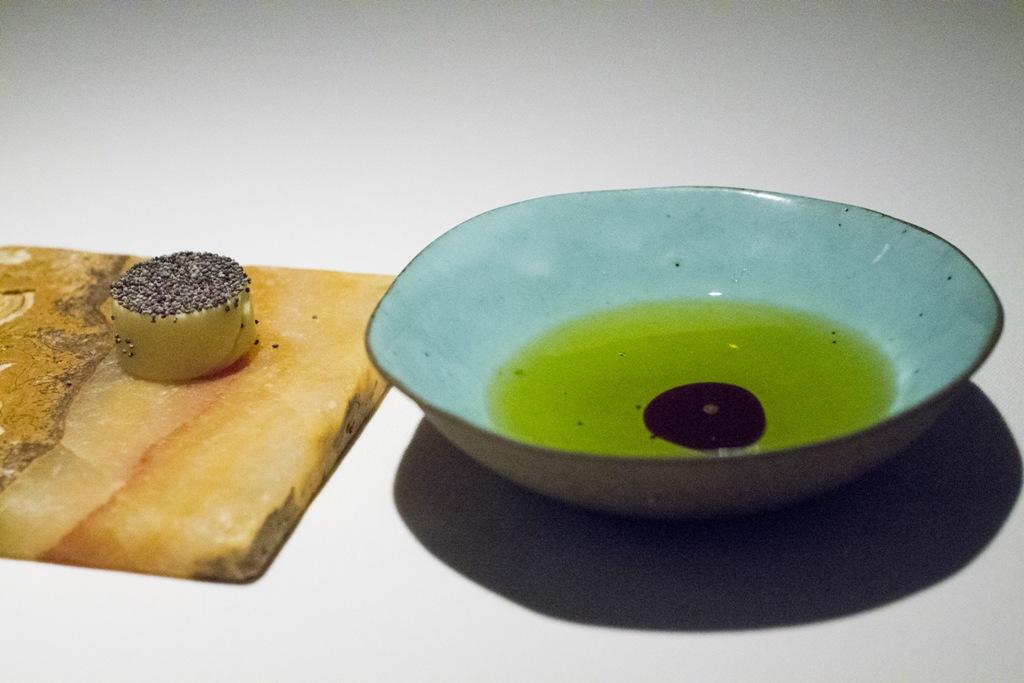 burro con semi, Gile Restaurant, Chef Cihan Kıpçak e Üryan Doğmuş, Istanbul