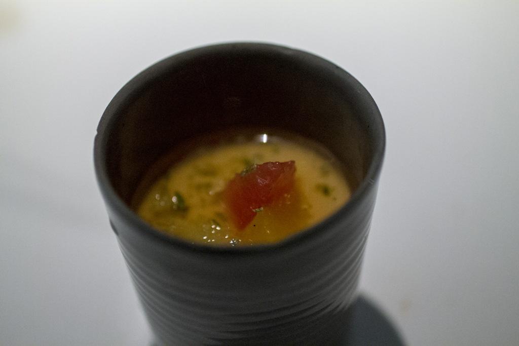 pre dessert, Gile Restaurant, Chef Cihan Kıpçak e Üryan Doğmuş, Istanbul