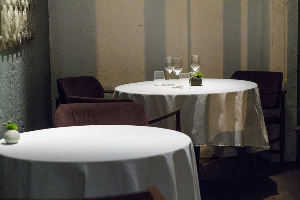 interni, Gile Restaurant, Chef Cihan Kıpçak e Üryan Doğmuş, Istanbul