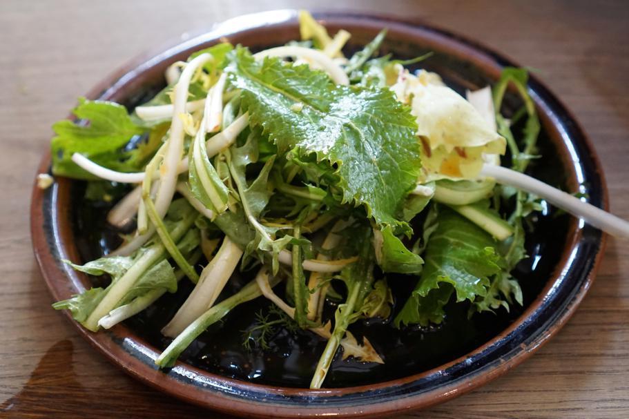 insalata di spring greens, Koya, Chef Junya Yamasaki, Londr