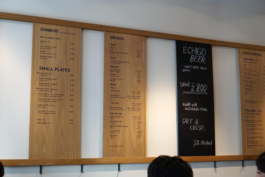 menù, Koya, Chef Junya Yamasaki, Londr