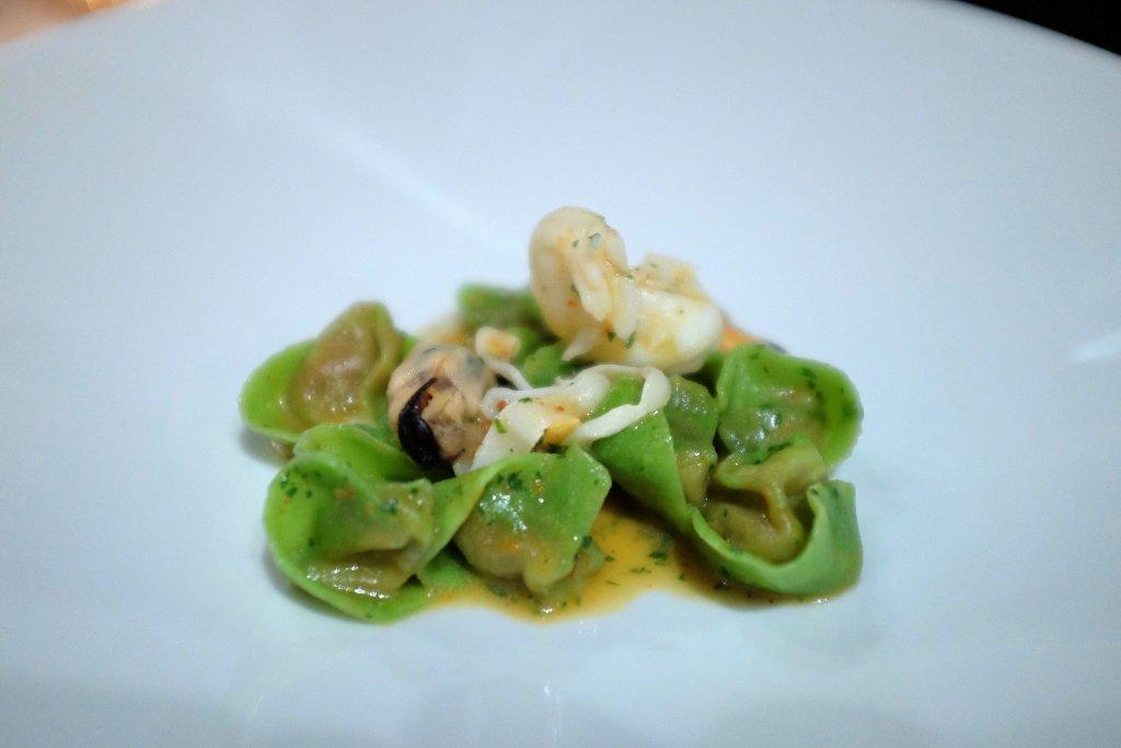 tortellini verdi, La Pergola, Chef Heinz Beck, Roma