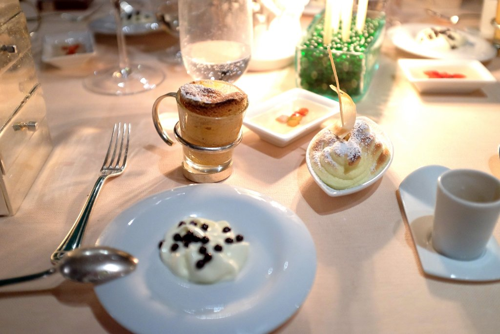 grand dessert, La Pergola, Chef Heinz Beck, Roma