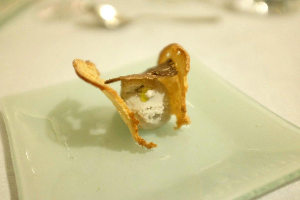 Gelato al tartufo bianchetto, Duomo, Chef Ciccio Sultano, Ragusa Ibla
