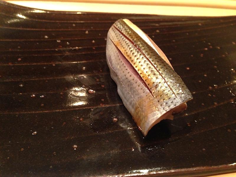 sardina, Sushi Yoshitake, Chef Masahiro Yoshitake, Tokyo