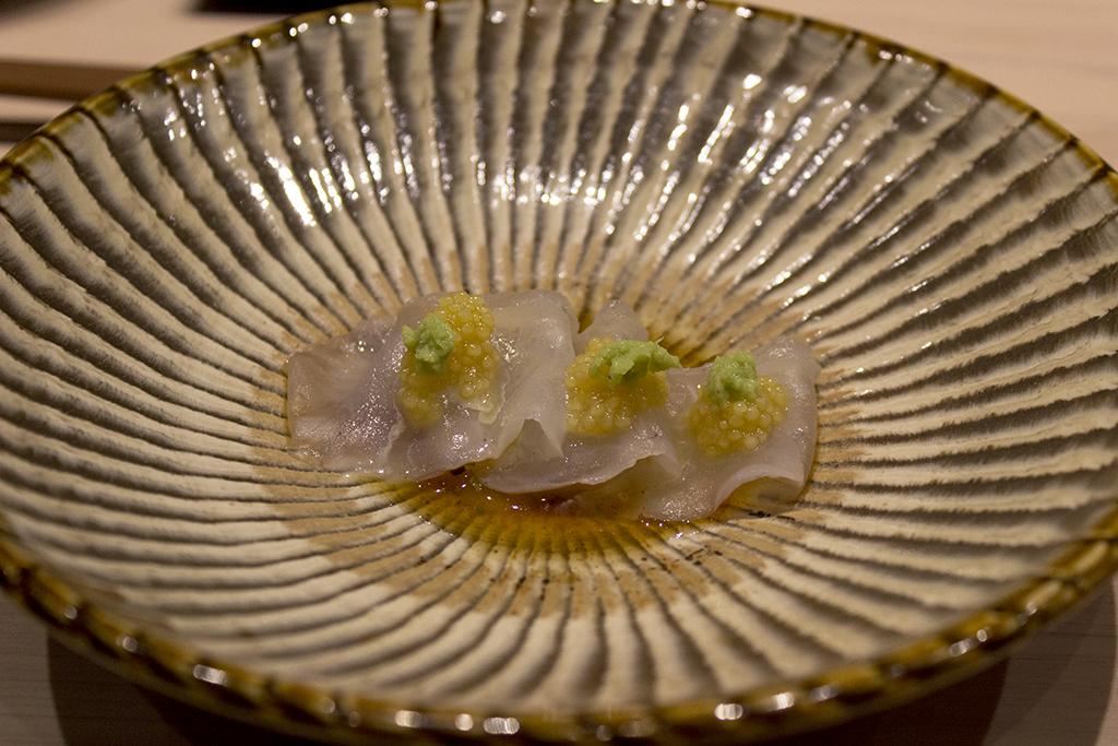Sashimi, The Araki, Chef Mitsuhiro Araki, London