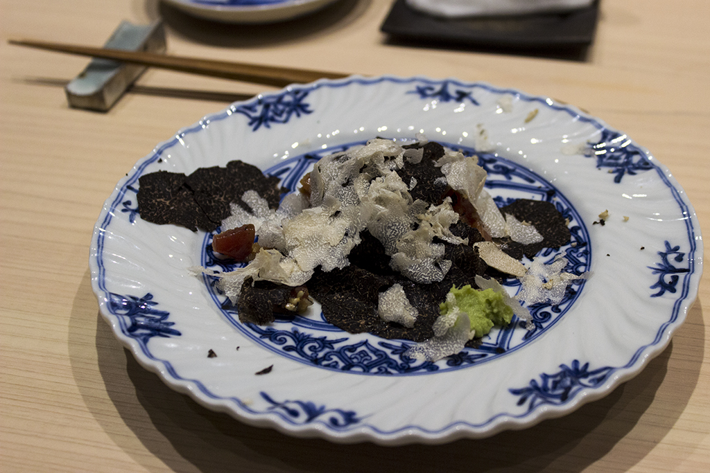 Tartare di tonno, The Araki, Chef Mitsuhiro Araki, London