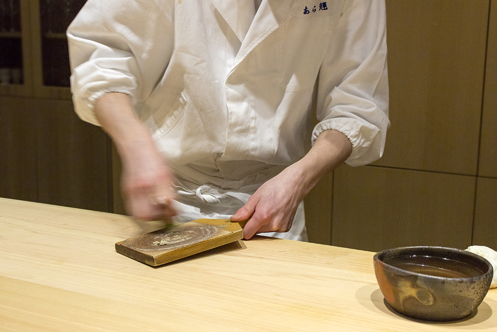 Wasabi, The Araki, Chef Mitsuhiro Araki, London