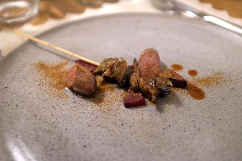 spiedo di lumache, Povero Diavolo, Chef Piergiorgio Parini, Torriana