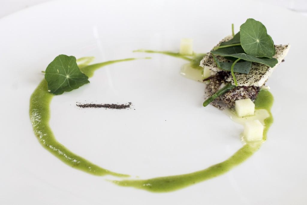 Ostrica verde mare, Uliassi, Chef Mauro Uliassi, Senigallia