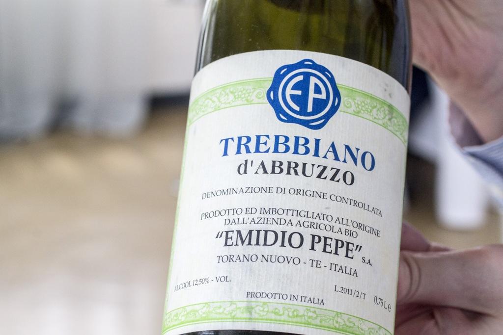 Trebbiano, emidio pepe, vino, Uliassi, Chef Mauro Uliassi, Senigallia