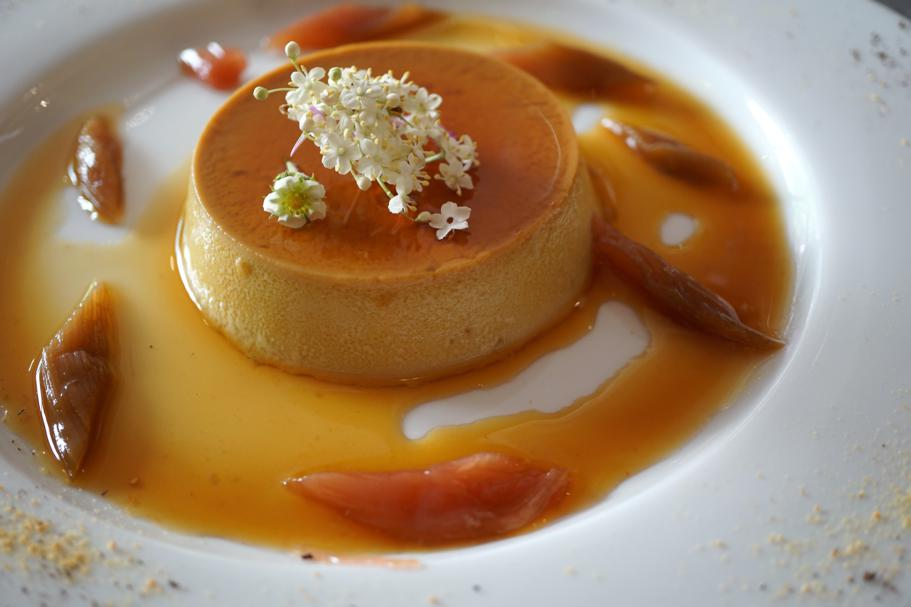 Creme Caramel, Le Comptoir des Tontons, Chef Pepita, Beaune, Francia