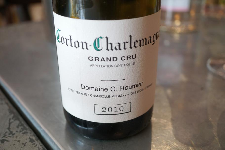 Corton Charlemagne, Le Comptoir des Tontons, Chef Pepita, Beaune, Francia