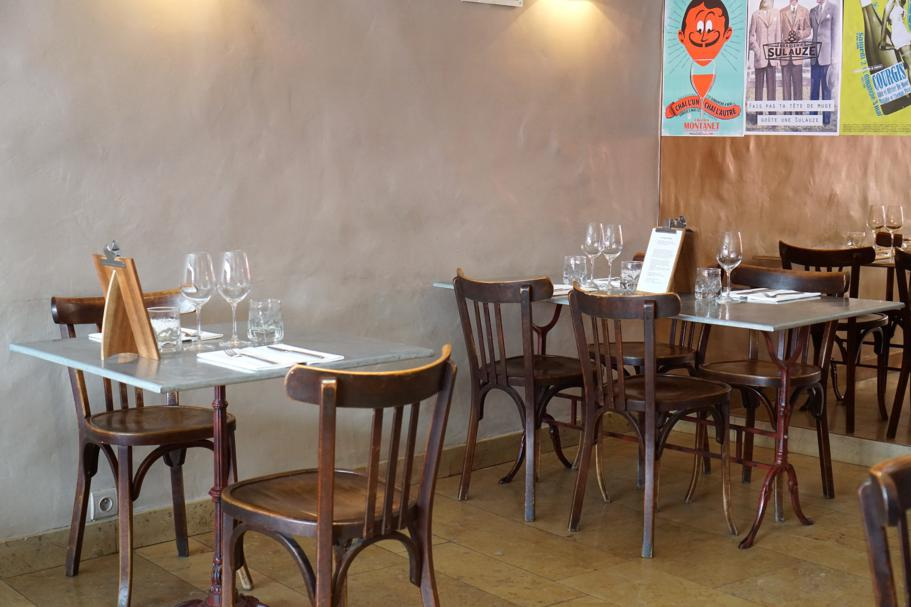 sala, Le Comptoir des Tontons, Chef Pepita, Beaune, Francia