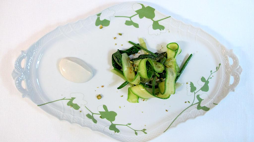 Verdure infuse nel fieno, Gelinaz! shuffle, Andrea Petrini
