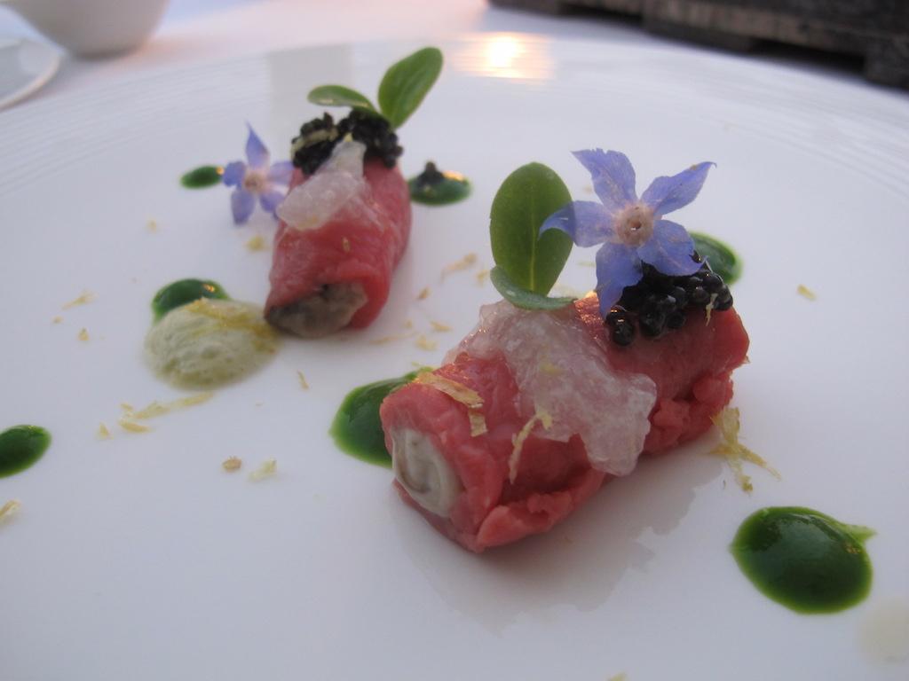 Carne di fassona, La Magnolia, Chef Cristoforo Trapani, Forte dei Marmi