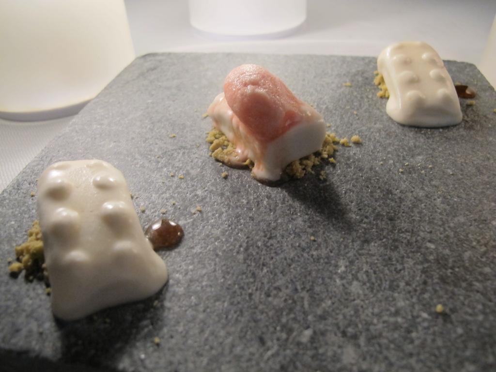 torrone ghiacciato, La Magnolia, Chef Cristoforo Trapani, Forte dei Marmi