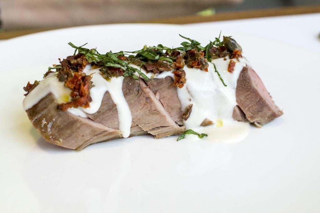 filetto di maiale, Spazio, Chef Niko Romito, Piazza Duomo, Milano