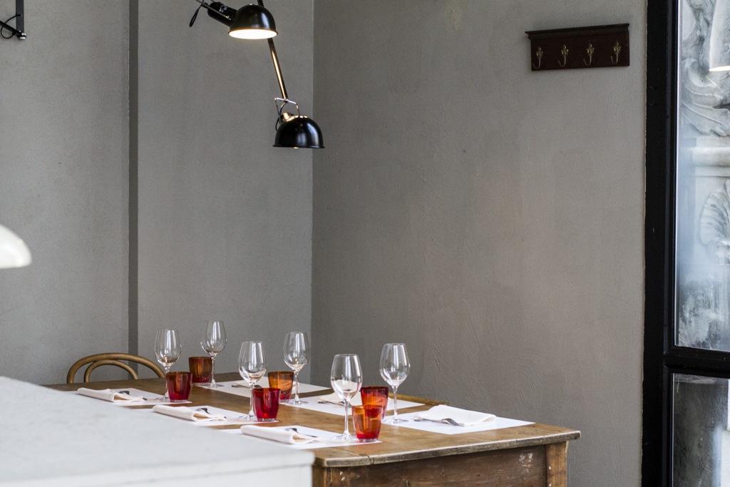 tavoli, Spazio, Chef Niko Romito, Piazza Duomo, Milano