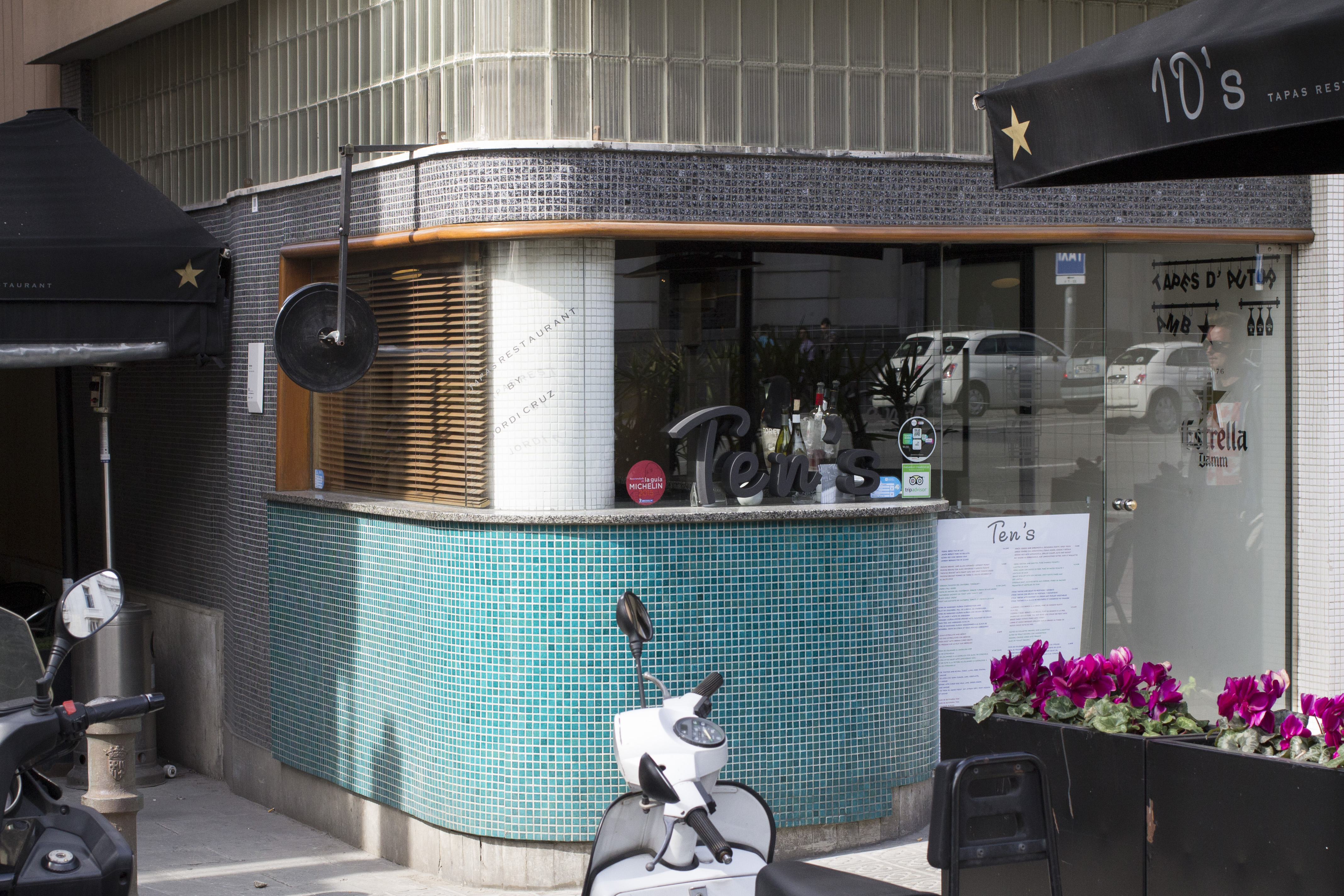 ingresso, Ten's, Tapas Bar, Barcellona