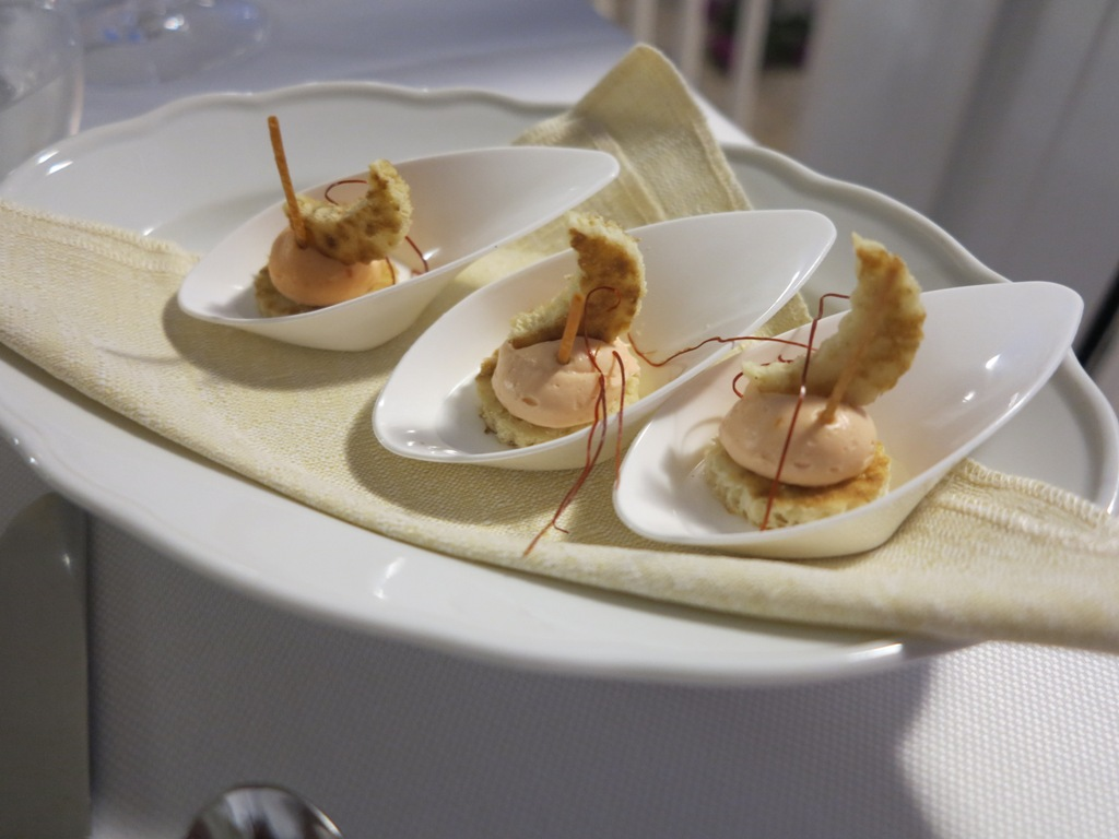 Mousse di Salmone, Da Tuccino, Chef Enzo Florio, Polignano A Mare
