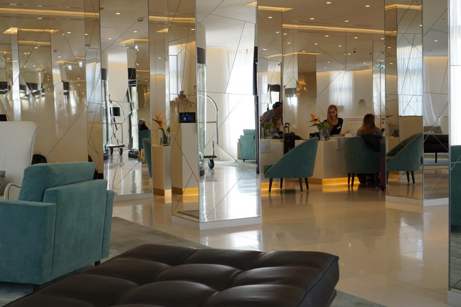hall, JW Marriott Venezia, Isola delle Rose, Venezia
