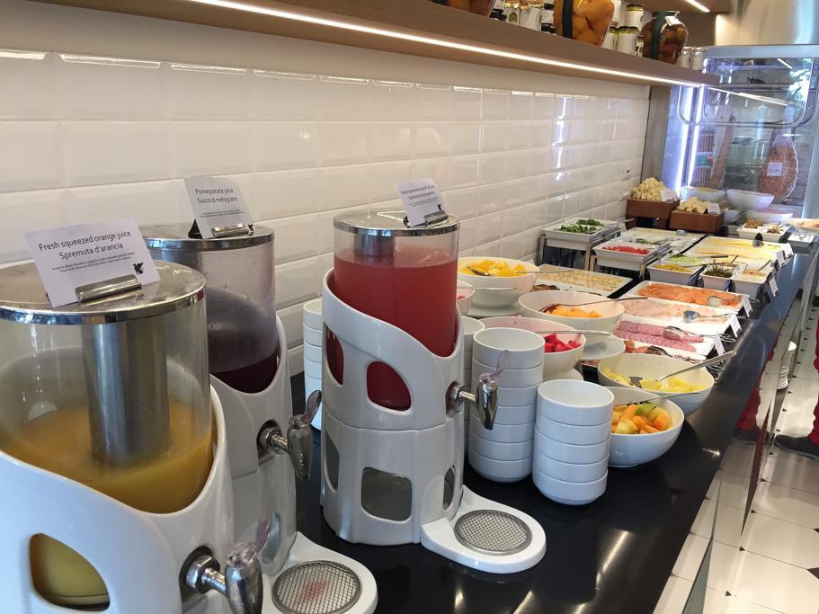 colazione, JW Marriott Venezia, Isola delle Rose, Venezia