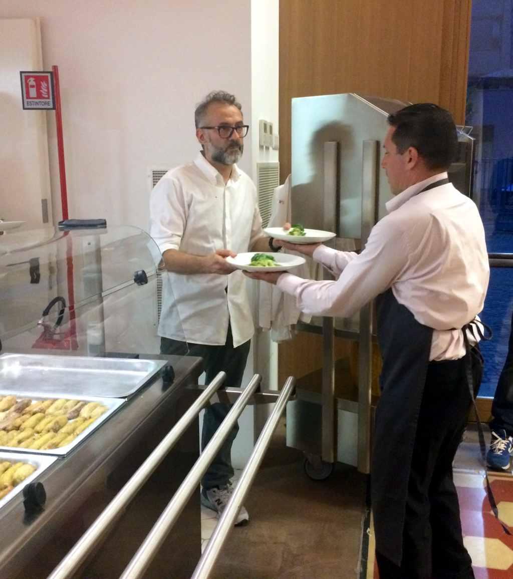 Refettorio Ambrosiano, Chef Massimo Bottura, Caritas, Milano