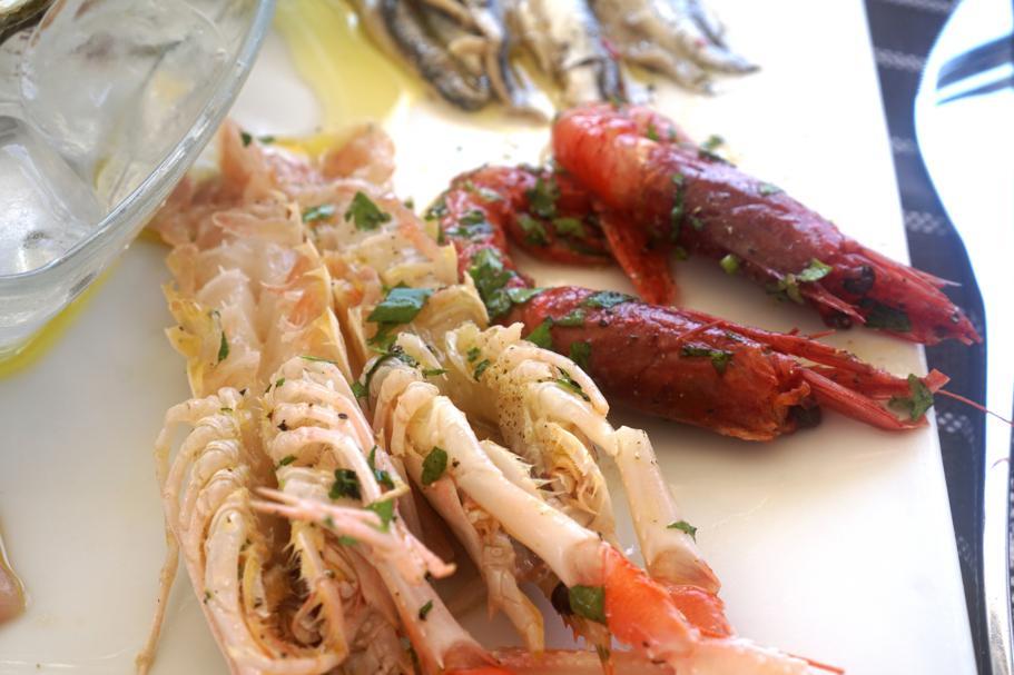 marinati di mare, Trattoria da Carmelo, Marina di Ragusa