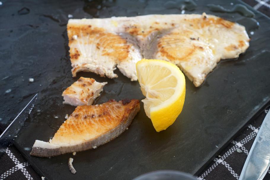 pesce spada, Trattoria da Carmelo, Marina di Ragusa