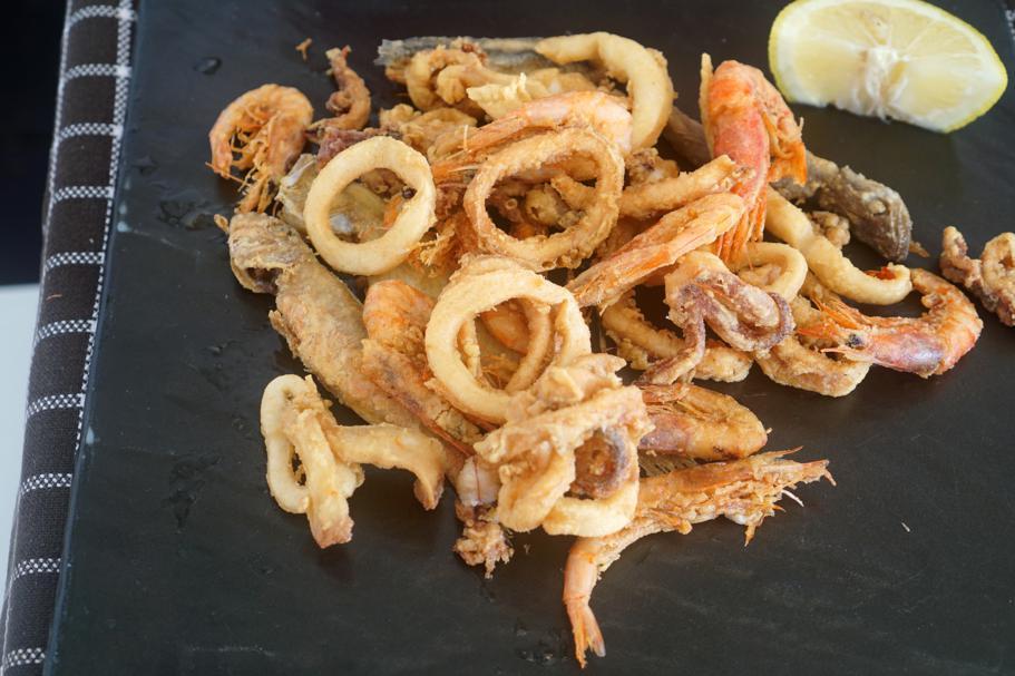 frittura, Trattoria da Carmelo, Marina di Ragusa