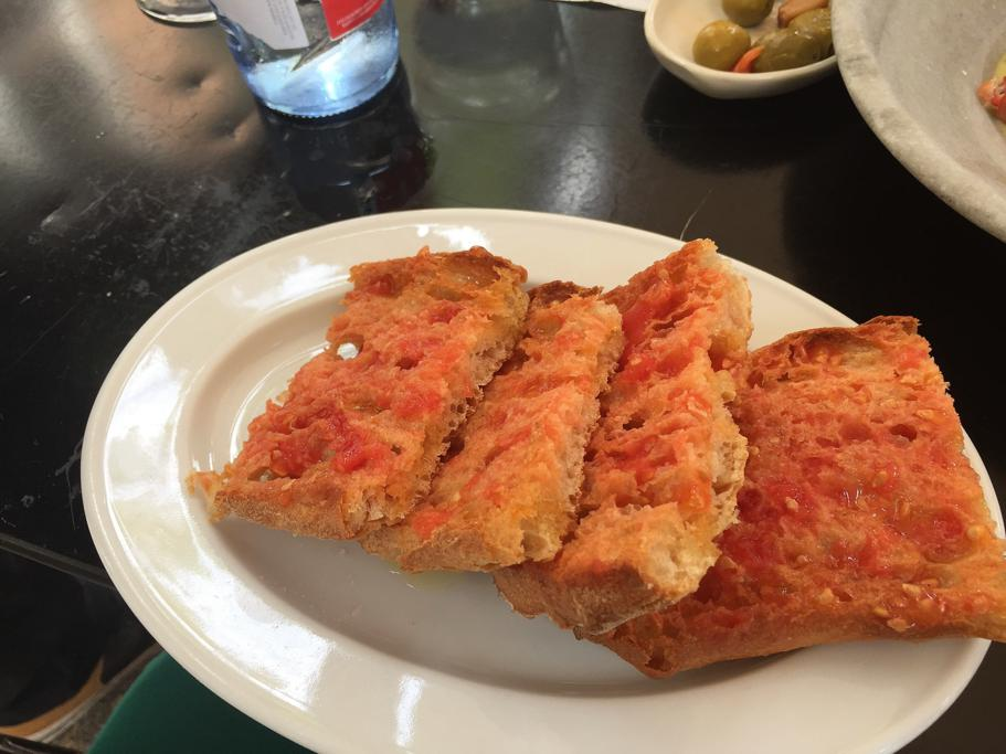 pane e pomodoro, Suculent, Chef Antonio Romero, Barcellona