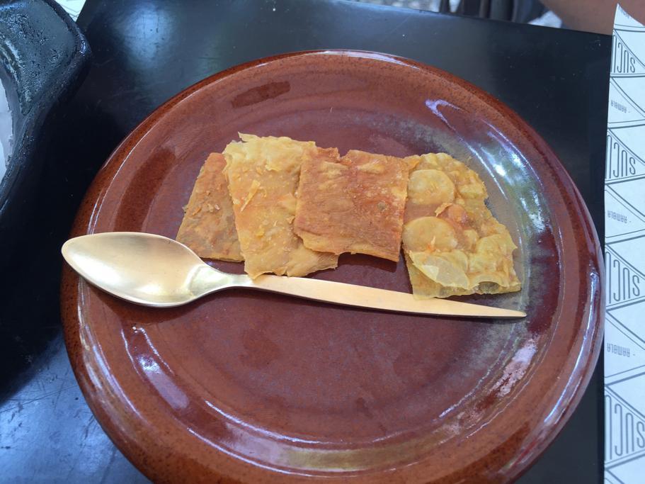 crunch di pollo, Suculent, Chef Antonio Romero, Barcellona