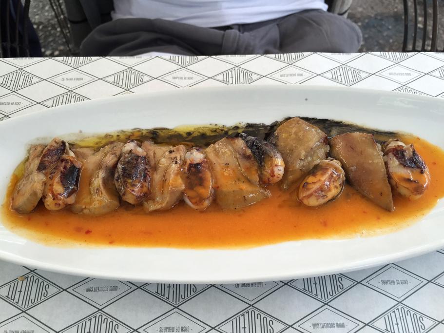calamaro, Suculent, Chef Antonio Romero, Barcellona