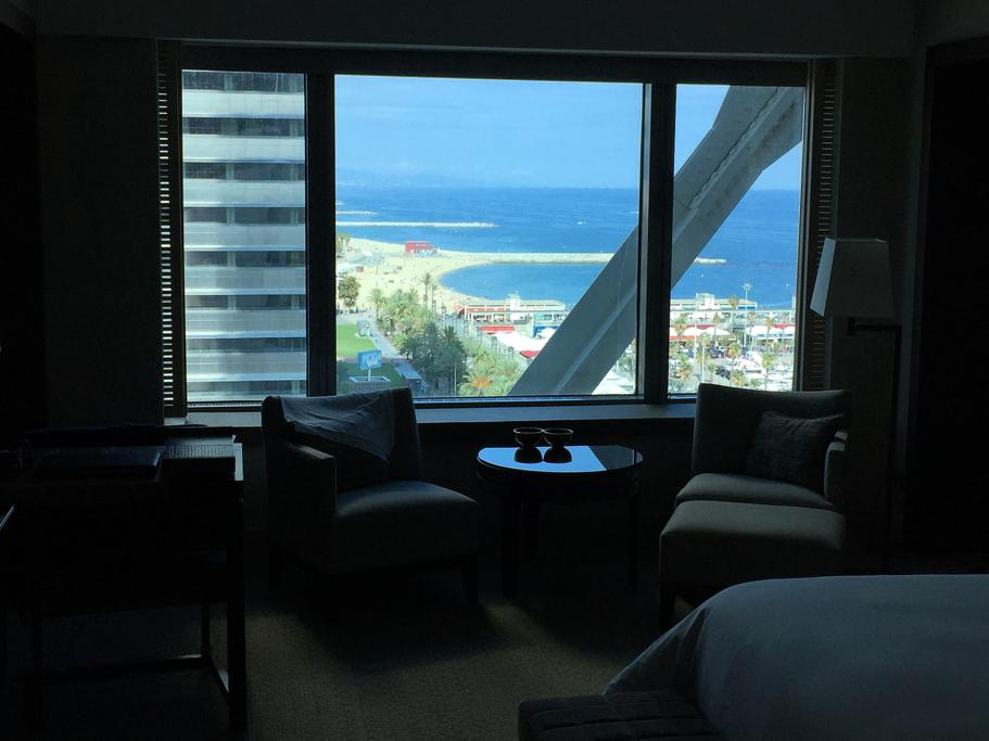 vista hotel, Hotel Arts Barcelona, The Ritz-Carlton, Barcellona