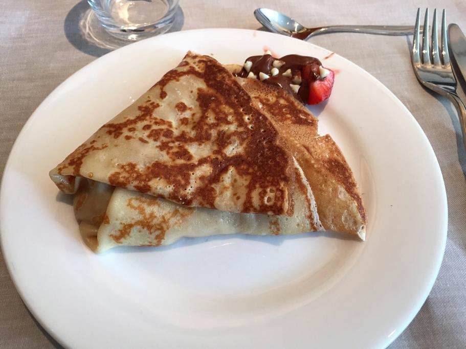 Crepe, Hotel Arts Barcelona, The Ritz-Carlton, Barcellona