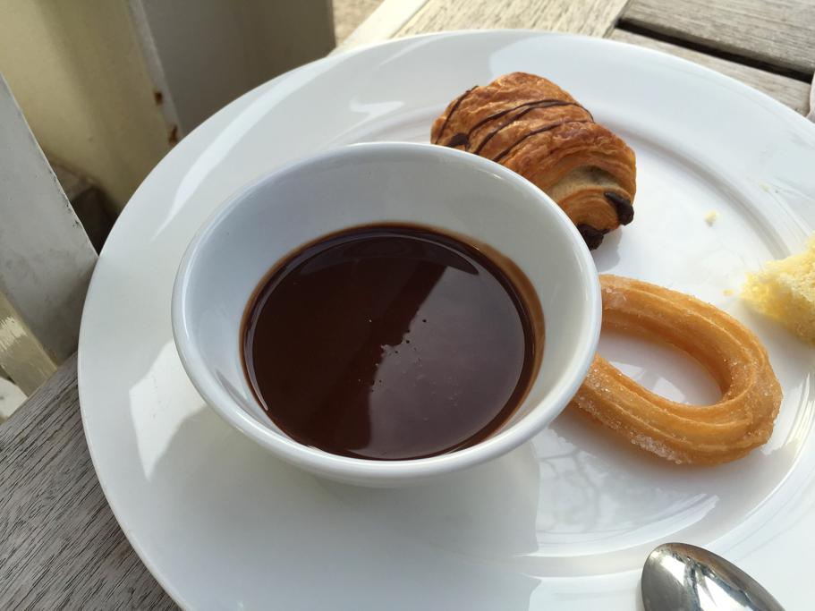 cioccolata e churros, Hotel Arts Barcelona, The Ritz-Carlton, Barcellona