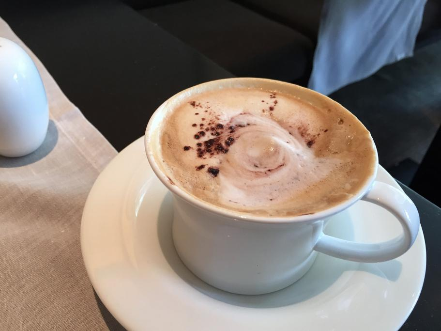 cappuccino, Hotel Arts Barcelona, The Ritz-Carlton, Barcellona