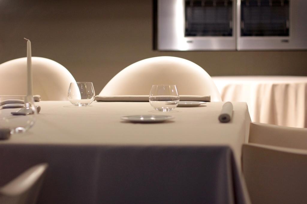 mise en place, Le Giare, Chef Gianluca Gorini, Montenovo di Montiano